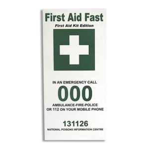 First Aid Leaflet
