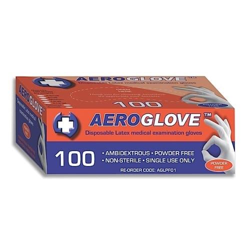 Latex Glove Powder Free - Large