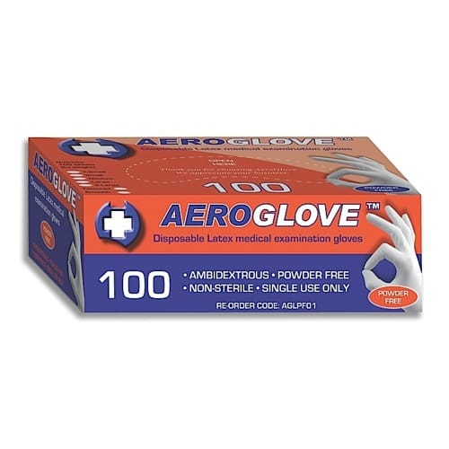 Latex Glove Powder Free - X-Large