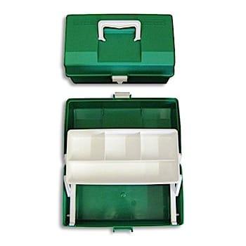 Plastic Green 1 Tray Case