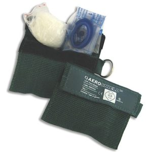 Key Ring CPR Faceshield and Gloves