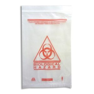 Biological Hazard Bag - 240mm X 160mm