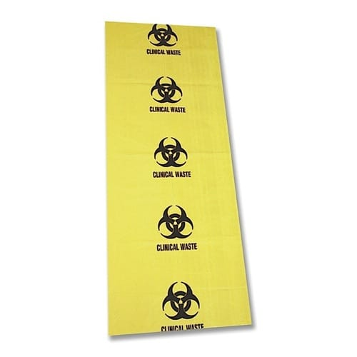 Clinical Waste Bag - 490mm X 1200mm