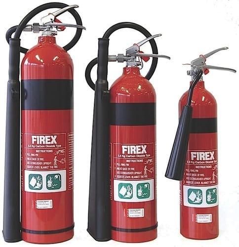 2.0Kg Carbon Dioxide Fire Extinguisher