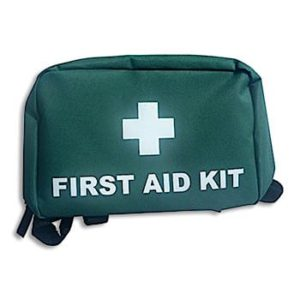 Small Green First Aid Bag
