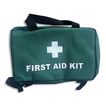 Medium Green First Aid Bag