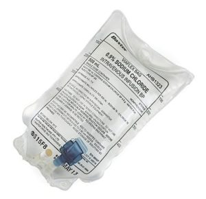 Sodium Chloride 0.9% Intravenous Infusion BP - 500ml