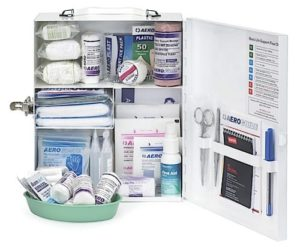 Childcare Response Kit Metal Cabinet