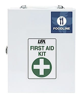 Foodline First Aid Kit 1 Metal Cabinet