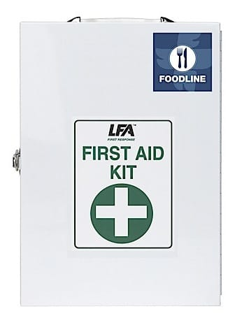 Foodline First Aid Kit 2 Metal Cabinet