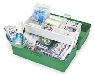 Workplace Response Kit 3 Plastic Box (Low Risk)