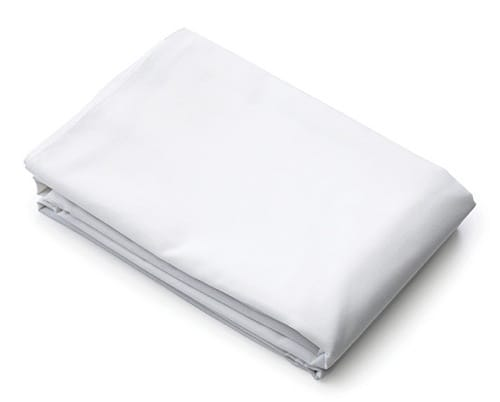 Bed Sheet/Stretcher Muslin White
