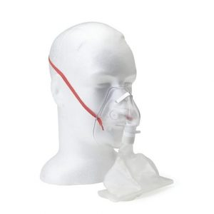 Oxygen Mask Non-Rebreather High Concentration Adult