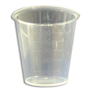 60ml Plastic Portion Cup