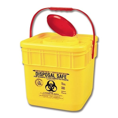 Sharps Disposal Container - 12.5L