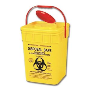 Sharps Disposal Container - 17.5L