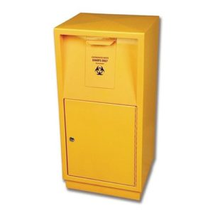 Steel Sharps Disposal Container - 23L