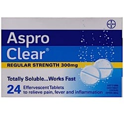 Aspro Clear Packet 24 Tabs