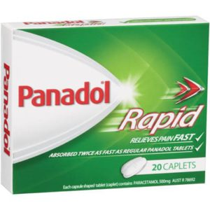 Panadol Rapid 20 Pack