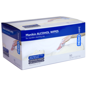 Manikin Alcohol Wipes Pack 50