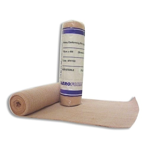 Heavy Weight Conforming Bandage 15cm X 4m Wrap of 12