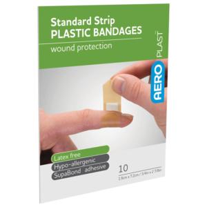 Product image of AeroPlast Plastic Bandages – Strips x 10