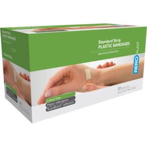 Product image of AeroPlast Plastic Bandages – Strips x 25