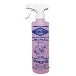 viraclean disinfectant 500ml spray