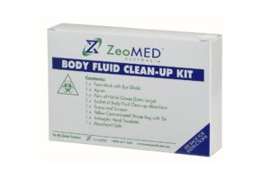 ZEO 2S13 body fluid clean up kit